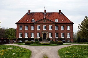 Princess Alexandra Victoria of Schleswig-Holstein-Sonderburg-Glücksburg - Princess Alexandra Victoria's birthplace Grünholz Manor, photographed in 2010.