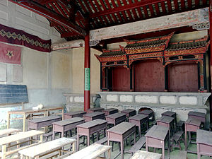 Gutian Congress - Classroom where the meeting was held.
