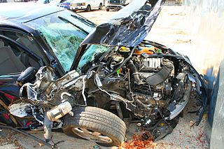 was your car totaled in a car crash accident claims and property