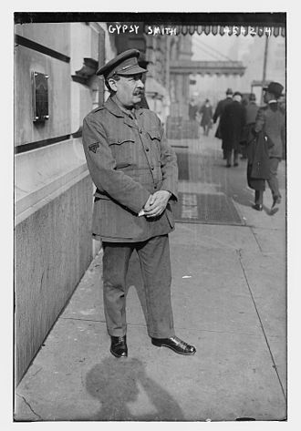 "Rodney ""Gipsy"" Smith - Gipsy Smith in Manhattan in 1918"