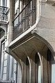 Hôtel Otlet, détail de la façade, rue de Livourne..JPG
