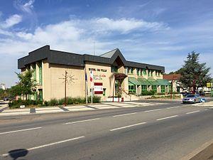 Maizières-lès-Metz - Image: Hôtel de ville MLM