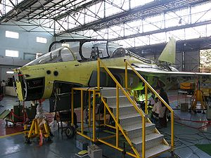 HAL Tejas - Tejas trainer under construction