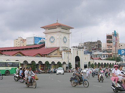 How to get to Bến Thành with public transit - About the place