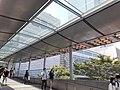 HK 中環 Central 民光街 Man Yiu Street 行人天橋 footbridge near IFC Mall April 2020 SS2 06.jpg