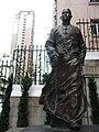 HK Mid-Levels Castle Road Dr Sun Yat-Sen Museum walking figure Sept-2012.JPG
