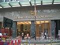 HK TST Canton Road Marco Polo Hongkong Hotel Evening.JPG