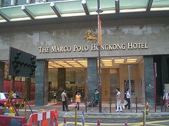 Marco Polo Hotels - Image: HK TST Canton Road Marco Polo Hongkong Hotel Evening