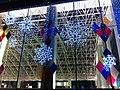 HK TST night Salisbury Road Sogo Xmas decor Jan-2013.JPG