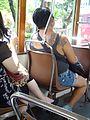 HK Tram passenger skin tatoo female woman July 2016 DSC.jpg