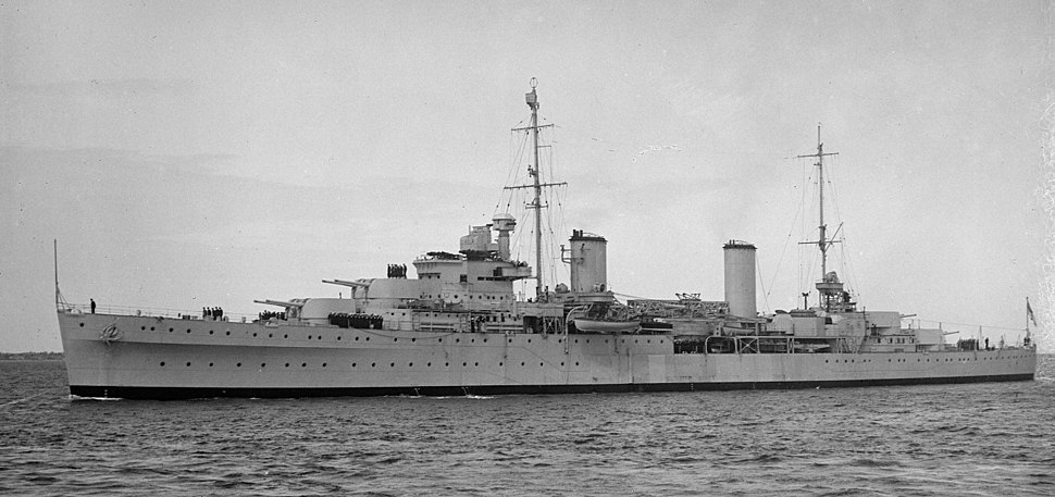 HMAS Hobart SLV AllanGreen