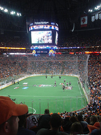 KeyBank Center - HSBC Arena during the 2008 National Lacrosse League Champion's Cup game