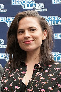Hayley Atwell British actress