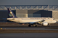HZ-ASF - A320 - Saudi Arabian Airlines
