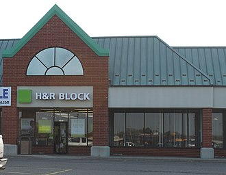 H&R Block - Image: H & R Block office