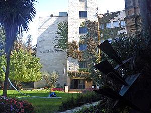 Hadassah Academic College - View of college buildings.