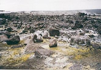 Pit crater - Halemaumau crater, Hawaii