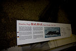 Halifax W1048 information board RAF Museum London Flickr 2225208504.jpg