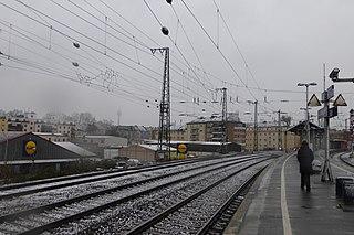 Düsseldorf Volksgarten station
