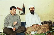 Hamid Mir interviewing Osama bin Laden