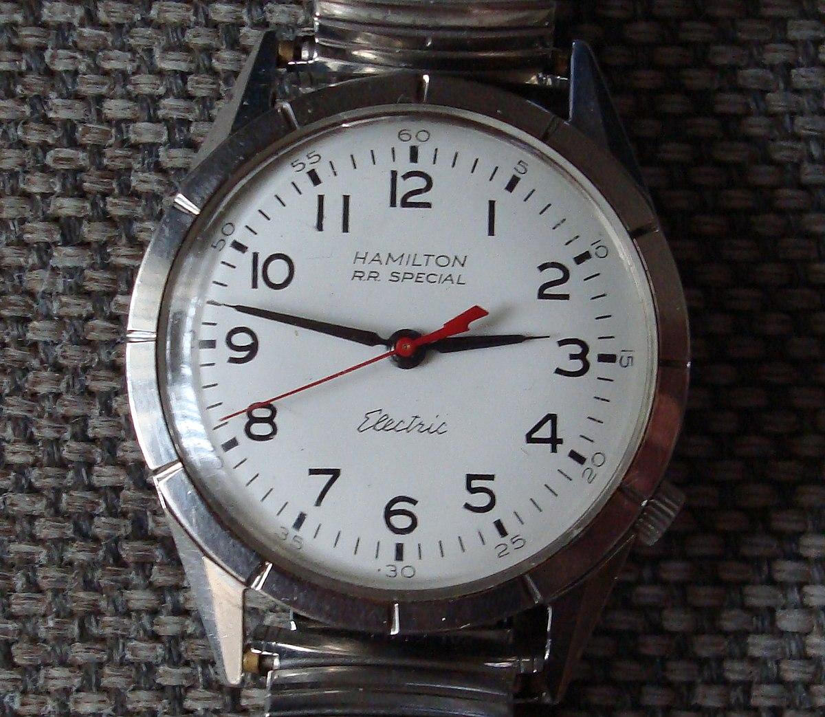 electric watch wikipedia