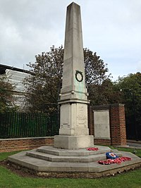 Hampstead War Memorial, Heath Street.jpg