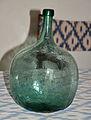 Hand blown bottle in the Jardins d'Alfàbia.jpg