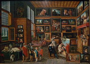 Hans III Jordaens - Gallery by Jordaens and figures by Cornelis de Baellieur, ca. 1630.