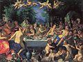 Hans Rottenhammer - Götterfest, Hochzeit von Peleus und Thetis (Ermitage).jpg