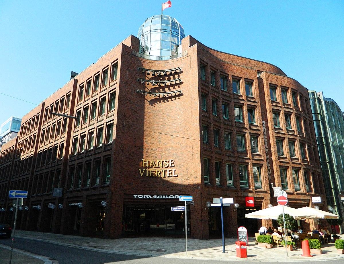 Hanse viertel hamburg wikipedia - Postmoderne architektur ...