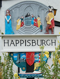 Image result for Happisburgh village sign