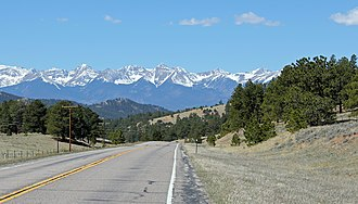 Colorado State Highway 96 - Image: Hardscrabble Pass