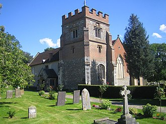Grade I and II* listed buildings in the London Borough of Hillingdon - Image: Harefield, Church of St Mary the Virgin geograph.org.uk 520268