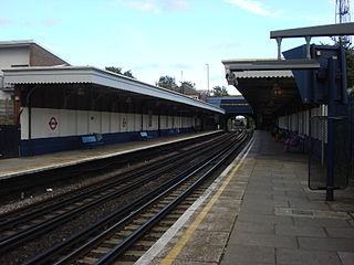 Harlesden station London Underground and London Overground station