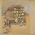 Harriet Mary Ford, The Market Square, Segovia, No. 1 (1913).jpg