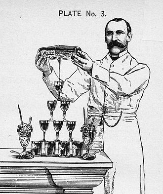 Harry Johnson (bartender) - Harry Johnson in New and Improved Bartenders' Manual