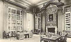 Cabot Library Harvard Room Book