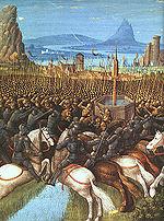 La bataille de Hattin