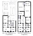 Haus Alleestraße 42 in Düsseldorf, Umbau durch Jacobs & Wehling (1862-1913), Grundriss Erd- und Obergeschoss.jpg