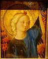 Head of an Angel, from an altarpiece now in the Rijksmuseum, by Guido di Pietro called Fra Angelico, c. 1445-1450, tempera and oil on panel - Wadsworth Atheneum - Hartford, CT - DSC05120.jpg