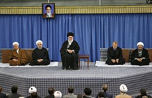 Politics of Iran - Most head officials of the government of Iran - 2015