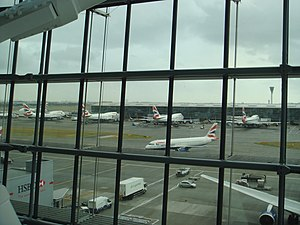 International air travel from the United Kingdom - London Heathrow Airport is not only the busiest international airport in the UK, but the world. The most travelled airport route on Earth is the Heathrow-JFK route.