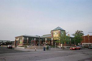 Rosa Parks Hempstead Transit Center - Image: Hempstead LIRR SW Corner