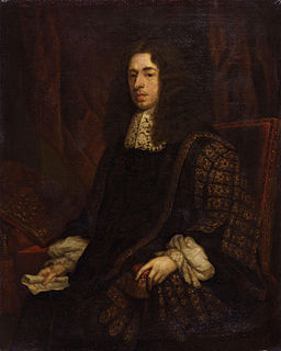 Heneage Finch, 1st Earl of Nottingham 17th-century English earl and politician