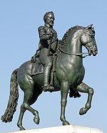 Statue équestre d Henri IV, au Pont Neuf (fondue en 1818)