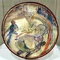 Henri de toulouse-lautrec, al circo, il cavaliere senza sella, olio su pergamena di un tamburello, 1888, 01.jpg