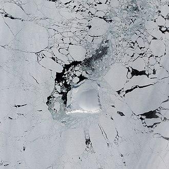 Henrietta Island - Henrietta Island as seen from space.