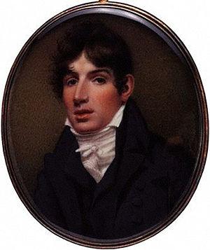 Henry Siddons - Henry Siddons, 1808 miniature by Samuel John Stump
