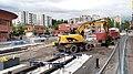 Hervanta tram construction.jpg
