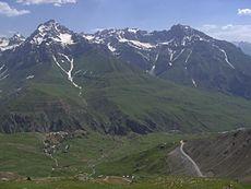 High tajik mountains